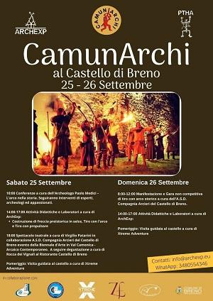 Locandina CamunArchi